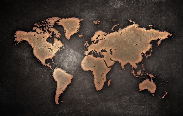 Picture Background, Continents, World Map, World Map