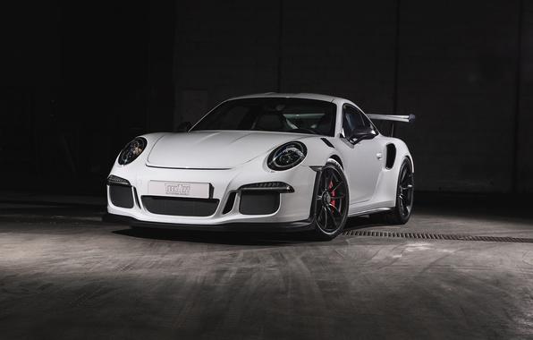 Picture 911, Porsche, white, Porsche, GT3, TechArt