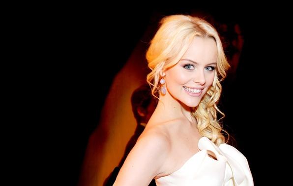 Picture smile, actress, blonde, helena mattsson