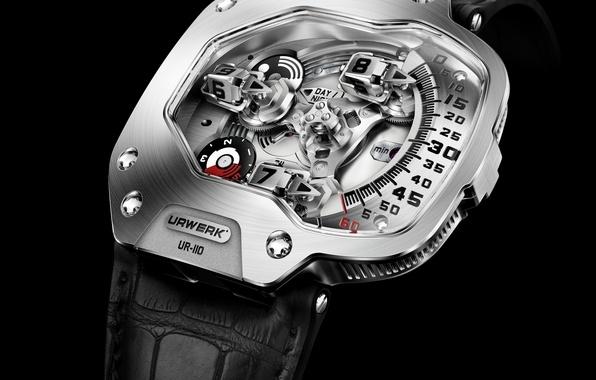 Picture design, watch, urwerk ur 110