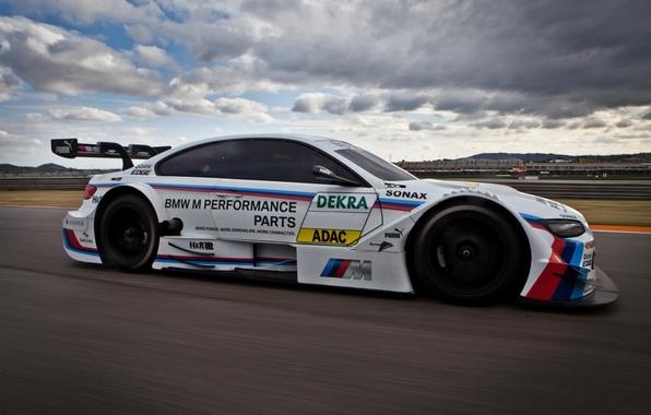 Picture asphalt, sport, BMW, speed, track, ring, car, race, the car, track, angel eyes, bmw m3, …