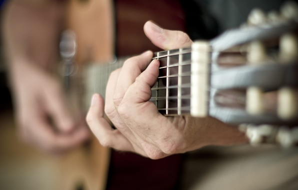 Picture music, guitar, strings