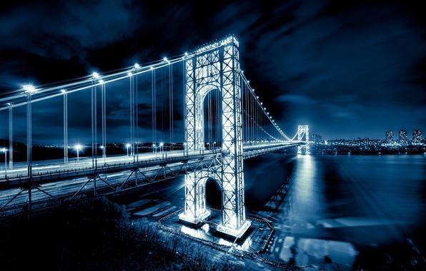 Picture river, New York, USA, USA, Manhattan, NYC, New York City, New Jersey, Hudson River, Hudson, …