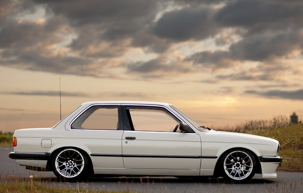 Picture BMW, E30, stance, 325i