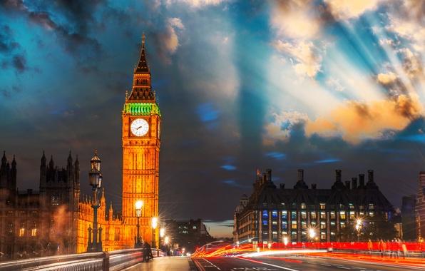 Picture England, London, excerpt, UK, Big Ben, London, England, Big Ben, Great Britain