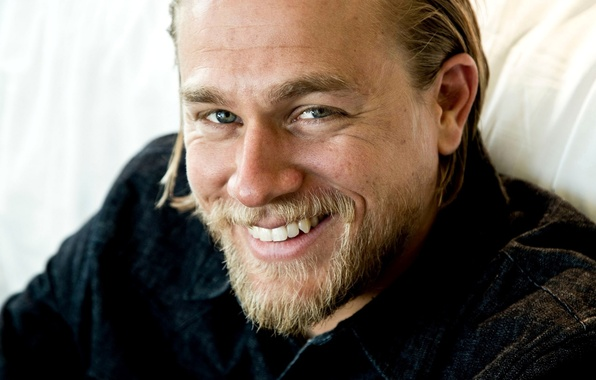 Picture face, smile, actor, male, blonde, Charlie Hunnam, Charlie Hunnam