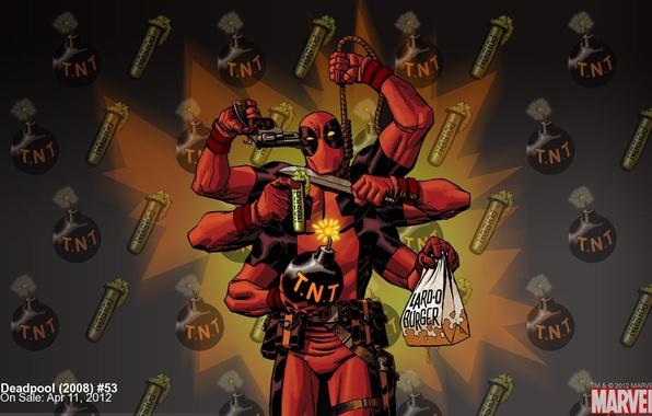 Picture suicide, superhero, marvel, Deadpool, Deadpool, comic, comics