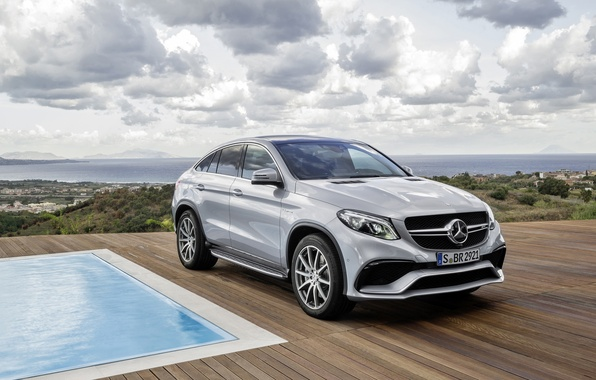 Picture Mercedes-Benz, Coupe, 2015, W166, GLE-class