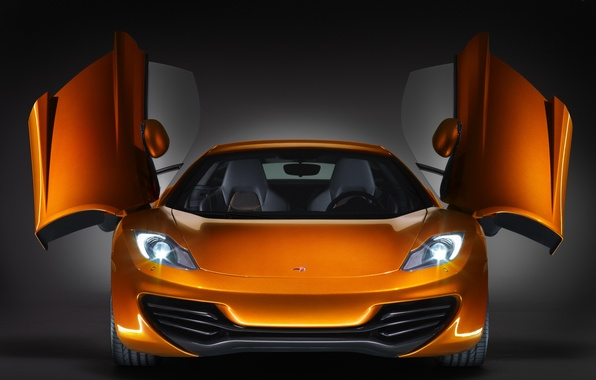 Picture car, design, McLaren, MP4-12C