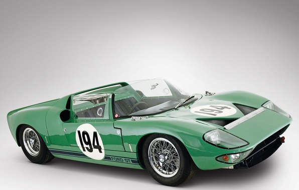 Picture Roadster, Ford, Prototype, 1965, Classic cars, V8 4, Linden Green, GT/111, Ford Advanced Vehicle Operations, …