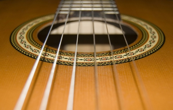 Picture guitar, strings, woodwinds