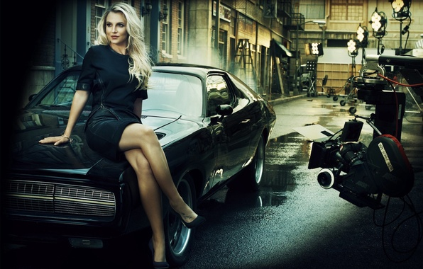 Picture pose, Girl, legs, car, Britney Spears, Playground, Britner Spears