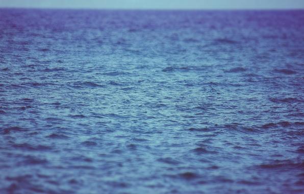 Picture sea, wave, water, the ocean, horizon