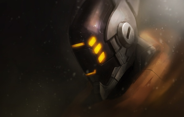 Picture helmet, League of Legends, fan art, moba, Wuju Bladesman, Master Yi