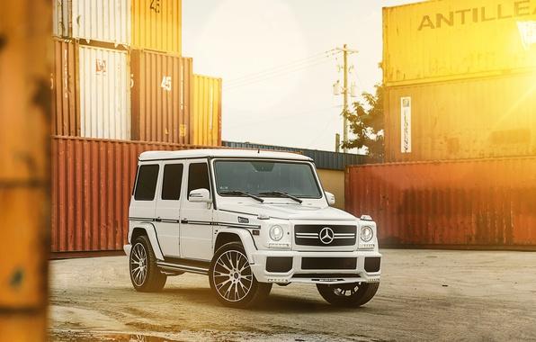 Picture White, Tuning, Mercedes, Drives, Gaelic, G63, MC Customs Vellano