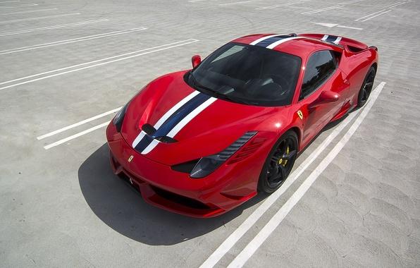 Picture red, Ferrari, Ferrari 458, sportscar, Ferrari 458 Special
