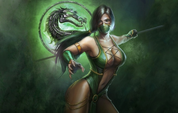 Wallpaper Logo Dragon Jade Mortal Kombat 9 Images For Desktop