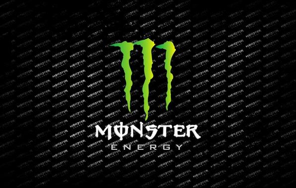 Picture advertising, monster, monster energy