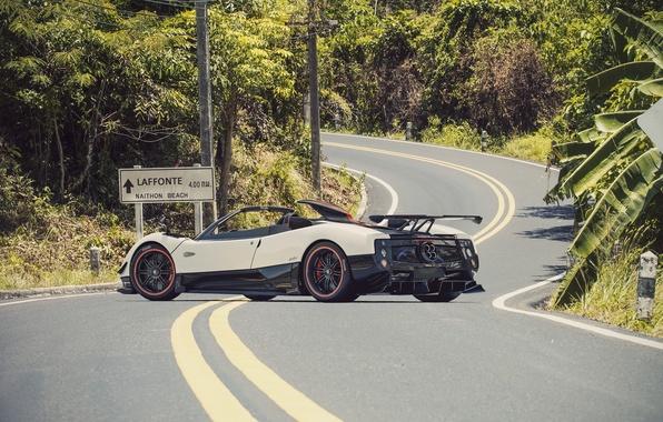 Picture Roadster, Pagani, Zonda, Supercar, Road, Supercar, Pagani, Probe, Cinque