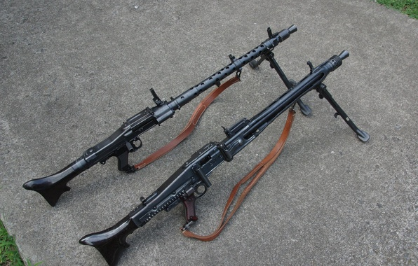 Picture weapons, guns, MG 42, MG-34