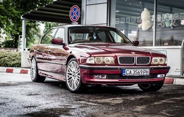 Photo wallpaper BMW, Boomer, BMW, 750li, E38