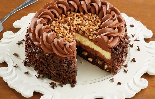 Picture food, sweets, cake, cake, dessert, food, chocolate, chocolate, glaze, dessert