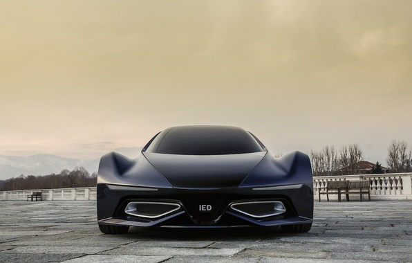 Picture supercar, the front, ied syrma