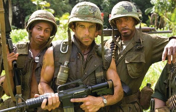 Picture zdorovskie actors, Ben Stiller, cool filmets, Thunder