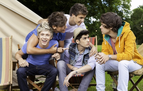 Picture music, one direction