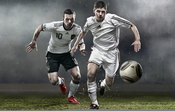 Picture football, the ball, Adidas, adidas, gerrard, soccer, Podolsk