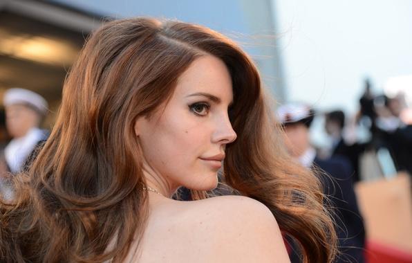 Picture girl, music, profile, singer, Lana Del Rey, Lana Del Rey