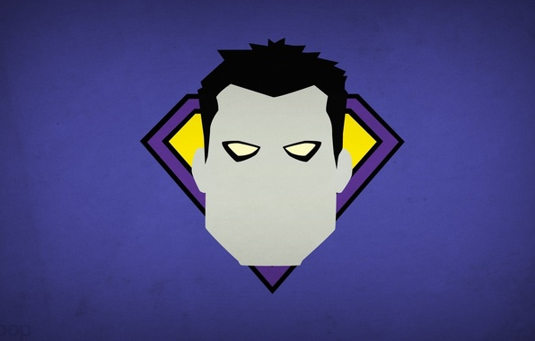 Picture minimalism, DC Comics, blo0p, Bizarro