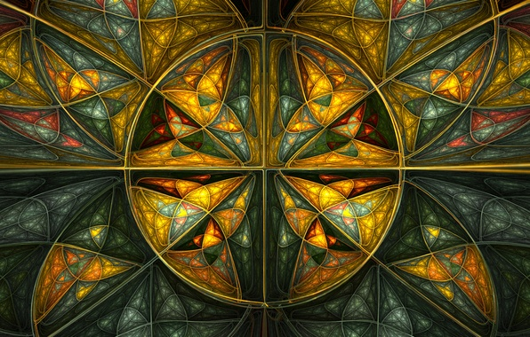 Picture line, pattern, paint, the volume, symmetry