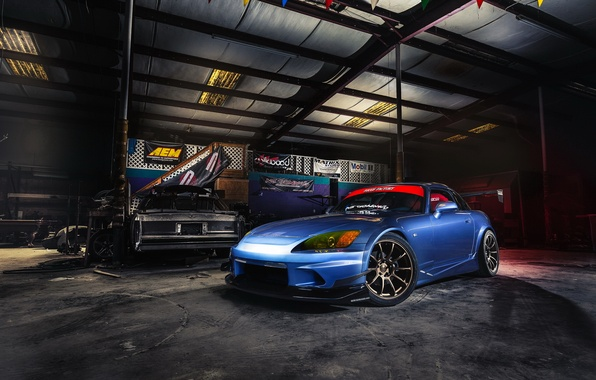Wallpaper car tuning garage honda s2000 images for for Garage auto 2000 wimille
