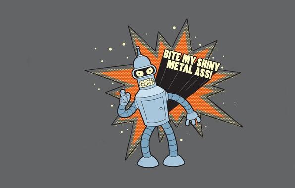 Picture Bender, futurama, Futurama, the animated series, industrial robot