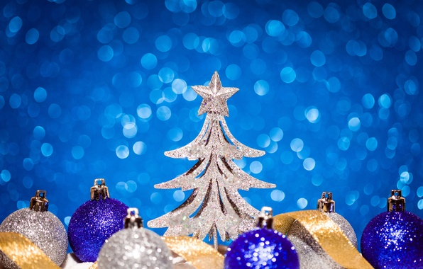 Picture holiday, toys, star, tree, New year, New Year