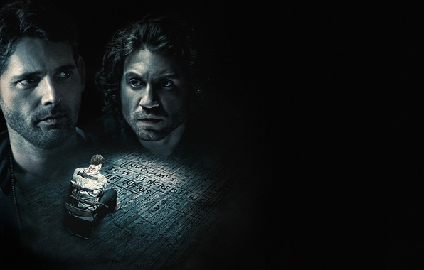Photo wallpaper Eric Bana, Deliver us from evil, Edgar Ramirez, Deliver Us from Evil