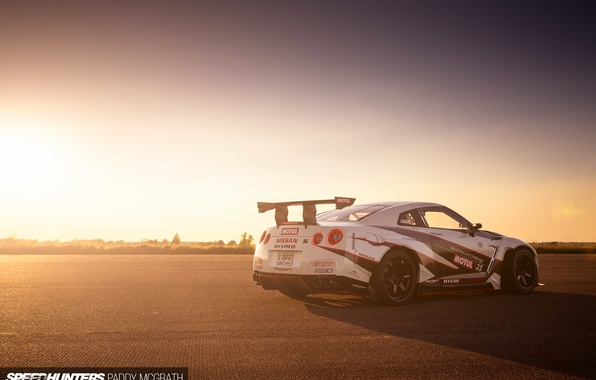 Picture machine, light, Nissan, speedhunters, NISMO-GT, The World's Fastest Drift Car