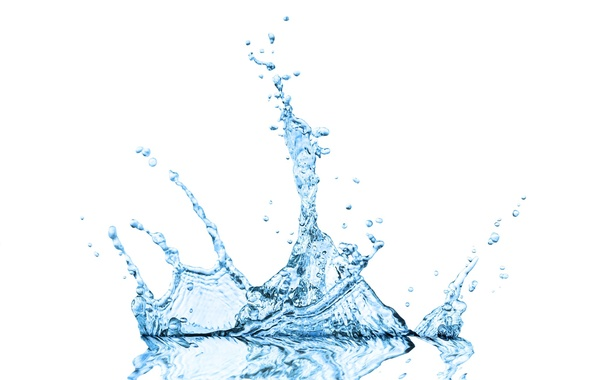 Picture water, squirt, background