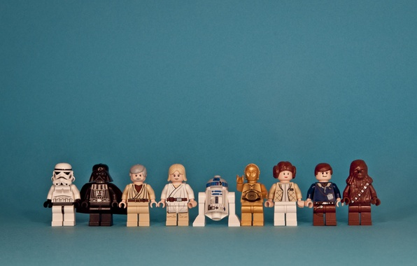 Picture star wars, star wars, lego, characters