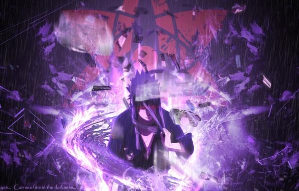 Wallpaper Naruto, Sharingan, Sasuke Uchiha, Mangekyou