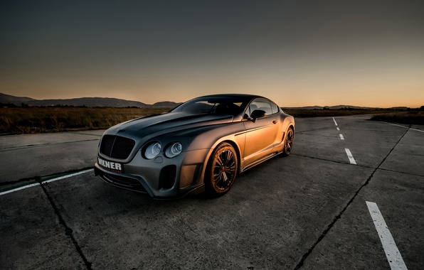 Picture car, auto, coupe, tuning, Bentley, bentley continental gt, vilner