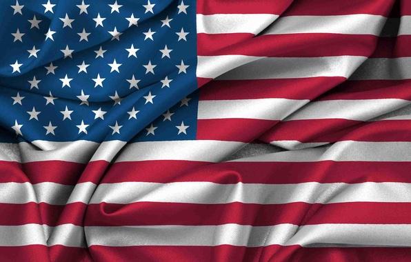 Picture flag, USA, USA