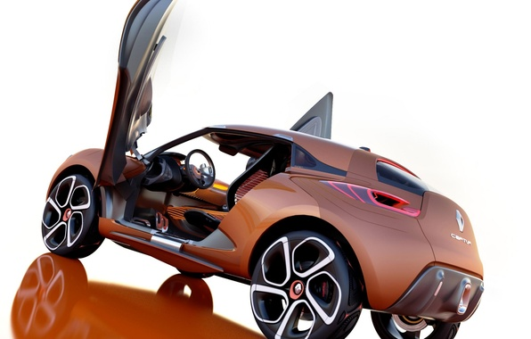 Picture machine, Concept, the concept, Renault, Captur, doors up