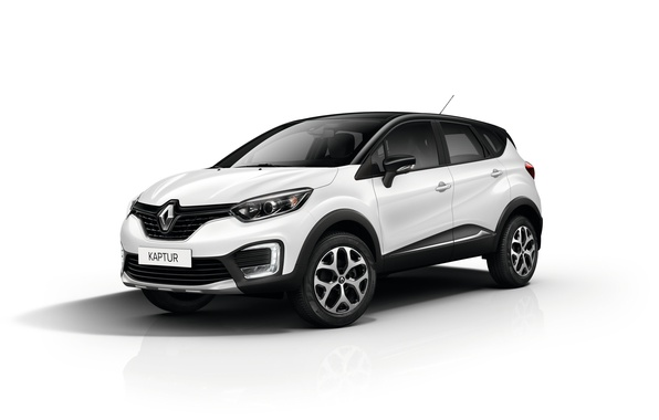 Picture white background, Renault, Reno, Captur, Kaptur
