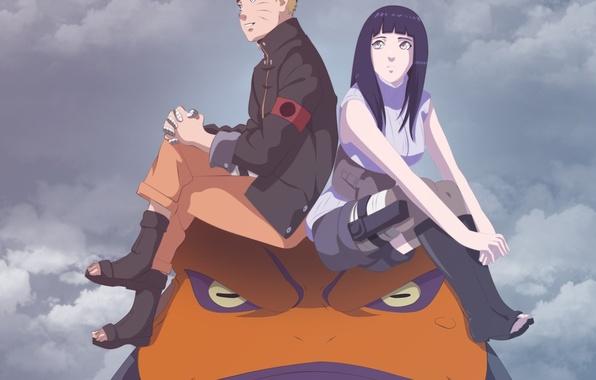 Picture Naruto, sky, pretty, ninja, hero, asian, cute, shinobi, japanese, Hyuuga Hinata, byakugan, Uzumaki Naruto, oriental, …