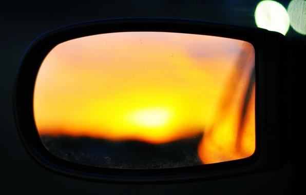 Picture car, machine, macro, sunset, reflection, background, Wallpaper, mirror, wallpaper, car, widescreen, background, macro, nostalgia, bokeh, …