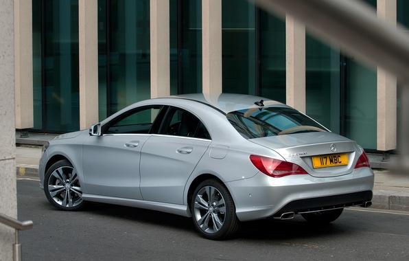 Picture machine, Mercedes-Benz, Mercedes, back, CLA 180