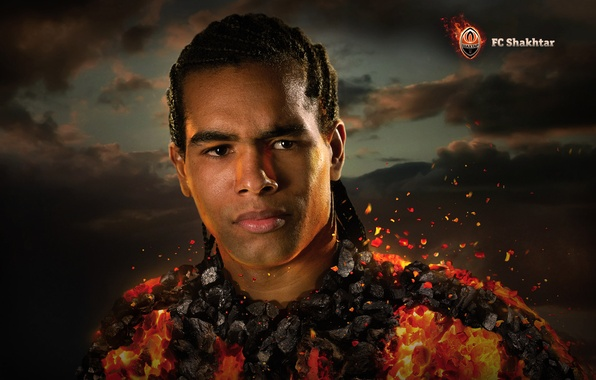 Picture Fire, Sport, Football, Miner, Player, Alex Teixeira, Coal, Alex Teixeira
