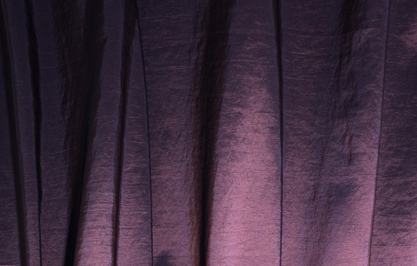 Picture fabric, blind, folds